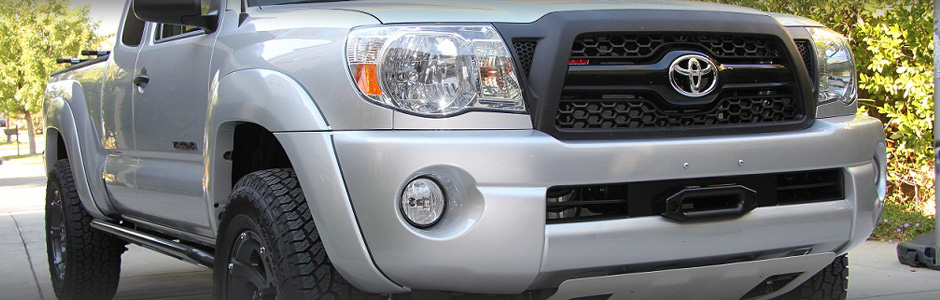 Hwms Hidden Winch Mount Specialist Tacoma Winch